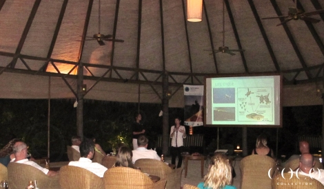 Presentation for the guests of Coco Palm Dhuni Kolhu